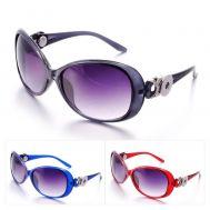 Ochelari de Soare Antireflex pentru 2 Butoni Interschimbabili in 4 Variante de Culori