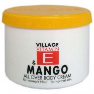 Crema corp cu vitamina E si Mango, Village Cosmetics, 500 ml, fig. 1