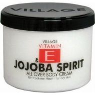 Crema corp cu vitamina E si Jojoba, Village Cosmetics, 500 ml, fig. 1
