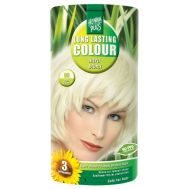 Decolorant, Long Lasting Colour Ultra Blond 00, Hennaplus, 140 ml, fig. 1
