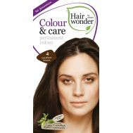 Vopsea par naturala, Colour & Care, 4 Medium Brown, Hairwonder, fig. 1