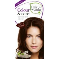 Vopsea par naturala, Colour & Care, 3.44 Dark Cooper Brown, Hairwonder, fig. 1
