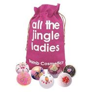 Set cadou All The Jingle Ladies Hessian Sack, Bomb Cosmetics, fig. 1
