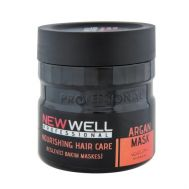 Masca de par Profesionala cu argan NEW WELL 500 ML, fig. 1