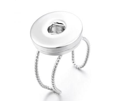 Inel dantelat ajustabil din cupru pentru un buton interschimbabil