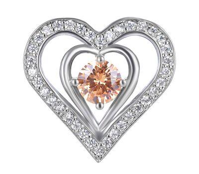 Bijuterie Buton Interschimbabil Heart Luxury, fig. 2