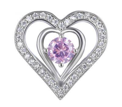 Bijuterie Buton Interschimbabil Heart Luxury, fig. 3
