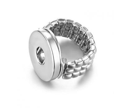 Inel reglabil tip franghie din cupru pentru un buton interschimbabil