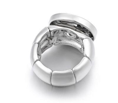 Inel reglabil din cupru pentru un buton interschimbabil